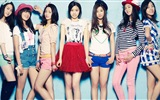 Koreanische Musik Girl-Group, ein rosa HD Wallpaper
