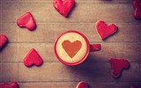 The theme of love, creative heart-shaped HD wallpapers #1