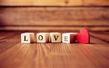The theme of love, creative heart-shaped HD wallpapers #2