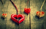 The theme of love, creative heart-shaped HD wallpapers #3