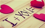 The theme of love, creative heart-shaped HD wallpapers #4