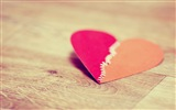 The theme of love, creative heart-shaped HD wallpapers #5