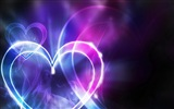 The theme of love, creative heart-shaped HD wallpapers #8