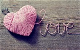 The theme of love, creative heart-shaped HD wallpapers #10