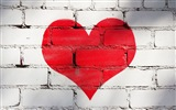 The theme of love, creative heart-shaped HD wallpapers #12