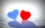 The theme of love, creative heart-shaped HD wallpapers #13