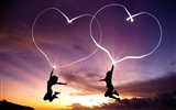 The theme of love, creative heart-shaped HD wallpapers #14