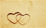The theme of love, creative heart-shaped HD wallpapers #15