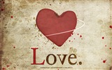 The theme of love, creative heart-shaped HD wallpapers #16