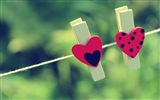 The theme of love, creative heart-shaped HD wallpapers #18