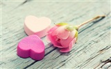 The theme of love, creative heart-shaped HD wallpapers #19