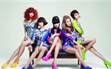 4Minute Música coreana hermosa Girls Wallpapers combinación HD
