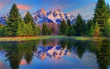 USA Grand Teton National Park nature landscape HD wallpapers #1