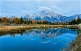 USA Grand Teton National Park nature landscape HD wallpapers #6