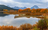 USA Grand Teton National Park nature landscape HD wallpapers #11
